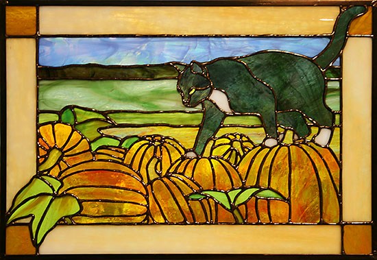 Cat-On-Pumpkins-Panel