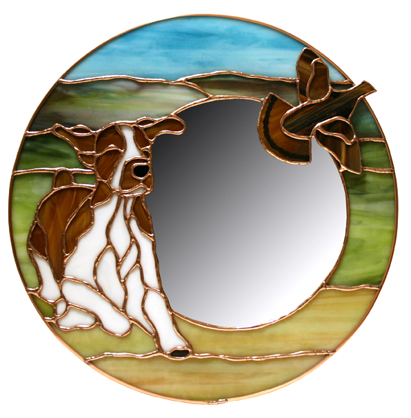 Welsh Springer Mirror