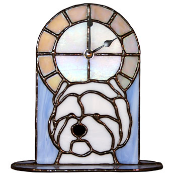 West_Highland_White_Terrier_Clock