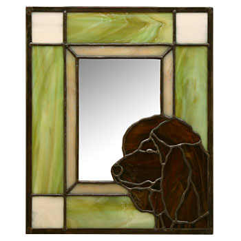 Irish-Water-Spaniel-Mirror
