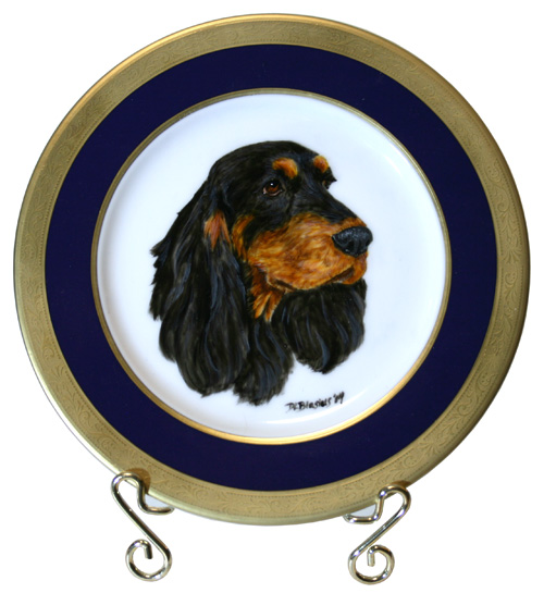 Field Spaniel Award Of Merit Plate