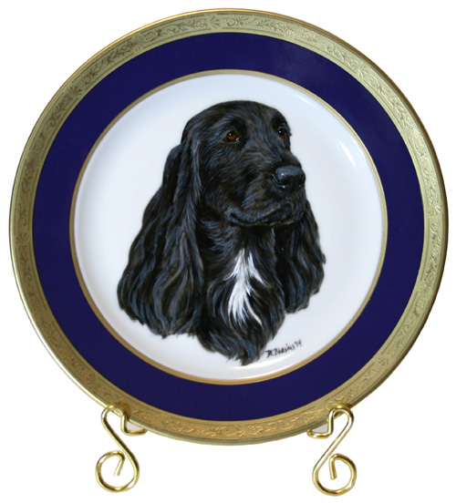 Field Spaniel Select Plate