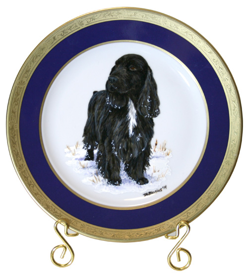 Field Spaniel Winners Bitch Plate